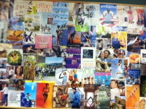creating your own dream board